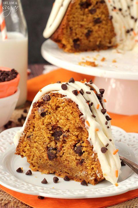 pumpkin cake bundt