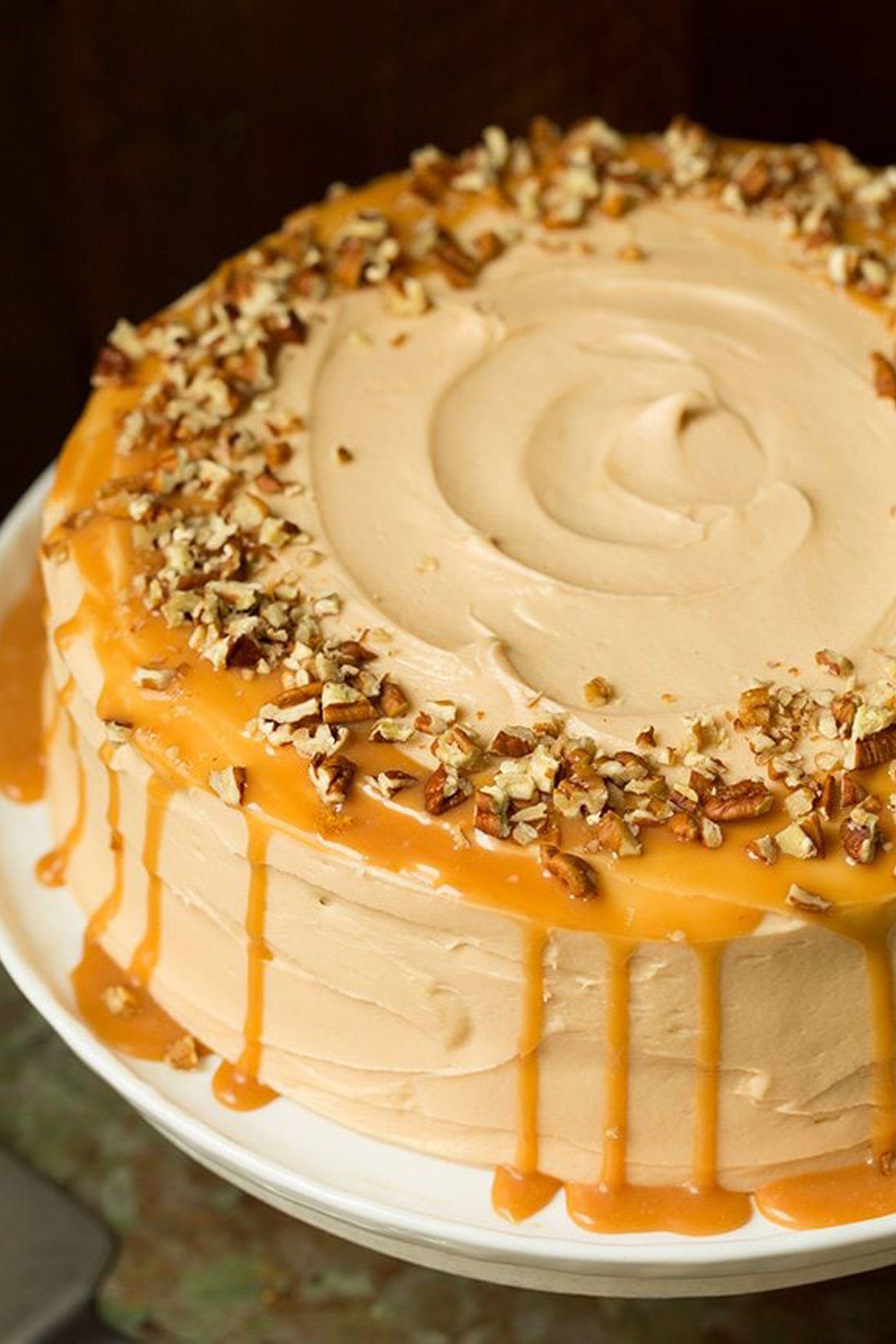pumpkin cake butter