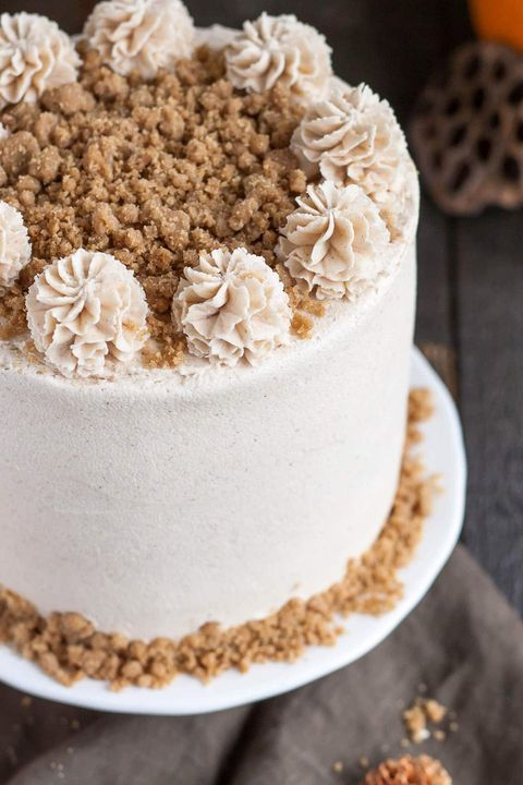 pumpkin cake streusel