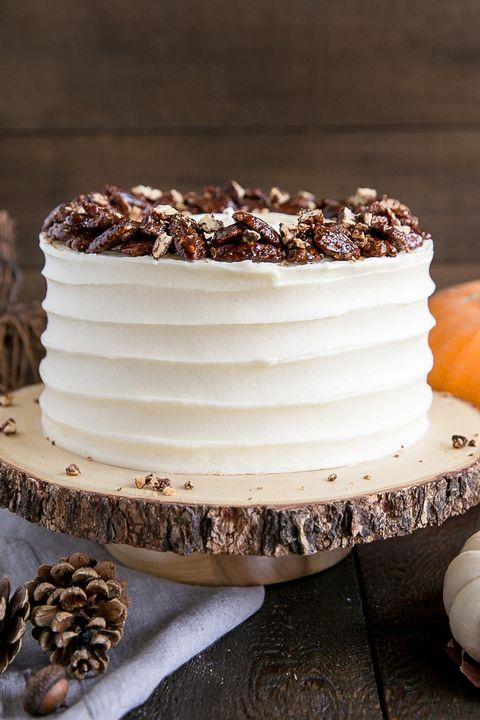pumpkin cakes pecans