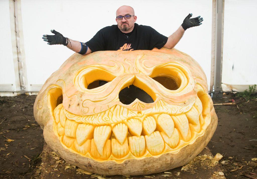 Zucca Di Halloween Piu Grande Del Mondo.La Spaventosa Evoluzione Delle Zucche Giganti