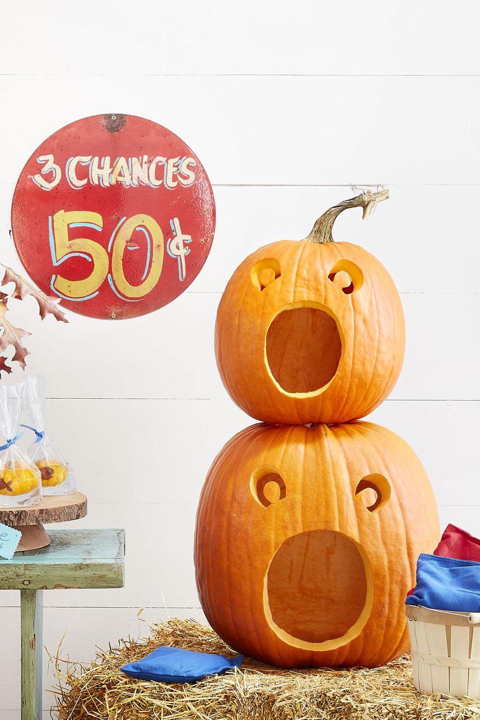 Halloween Games   Beanbag Toss Pumpkins   Beanstalk Mums