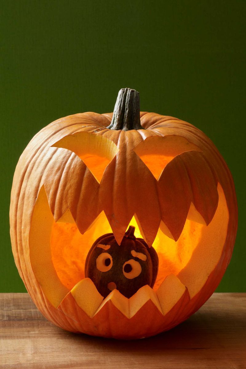 59 Pumpkin Carving Ideas , Creative Jack o\u0027 Lantern Designs