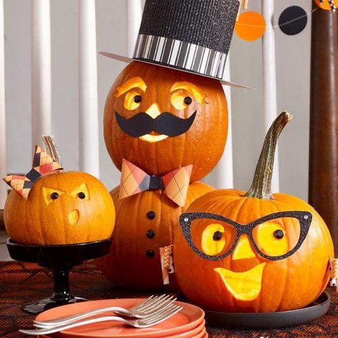 pumpkin carving ideas - family
