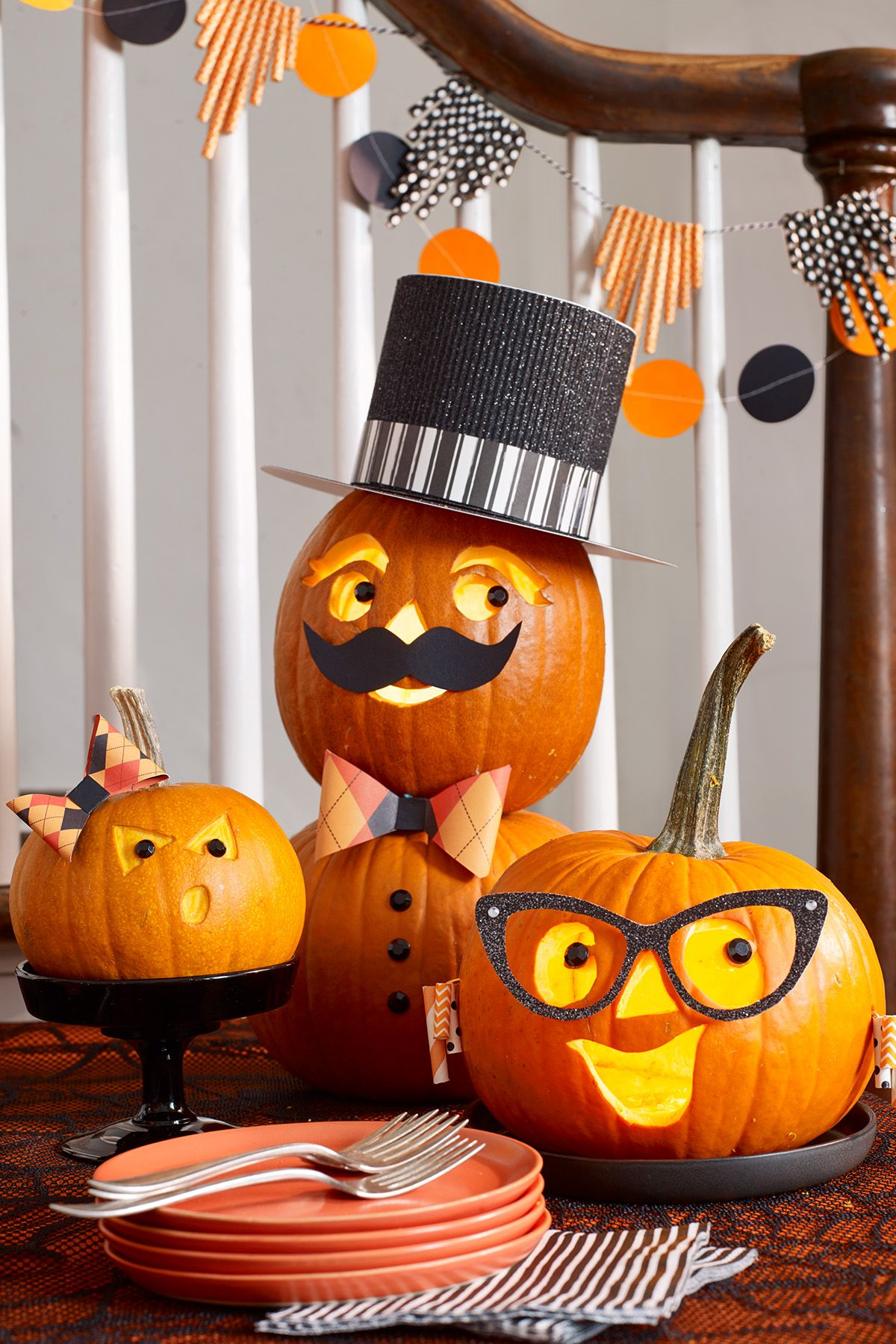 Pumpkin Carving Ideas Family
