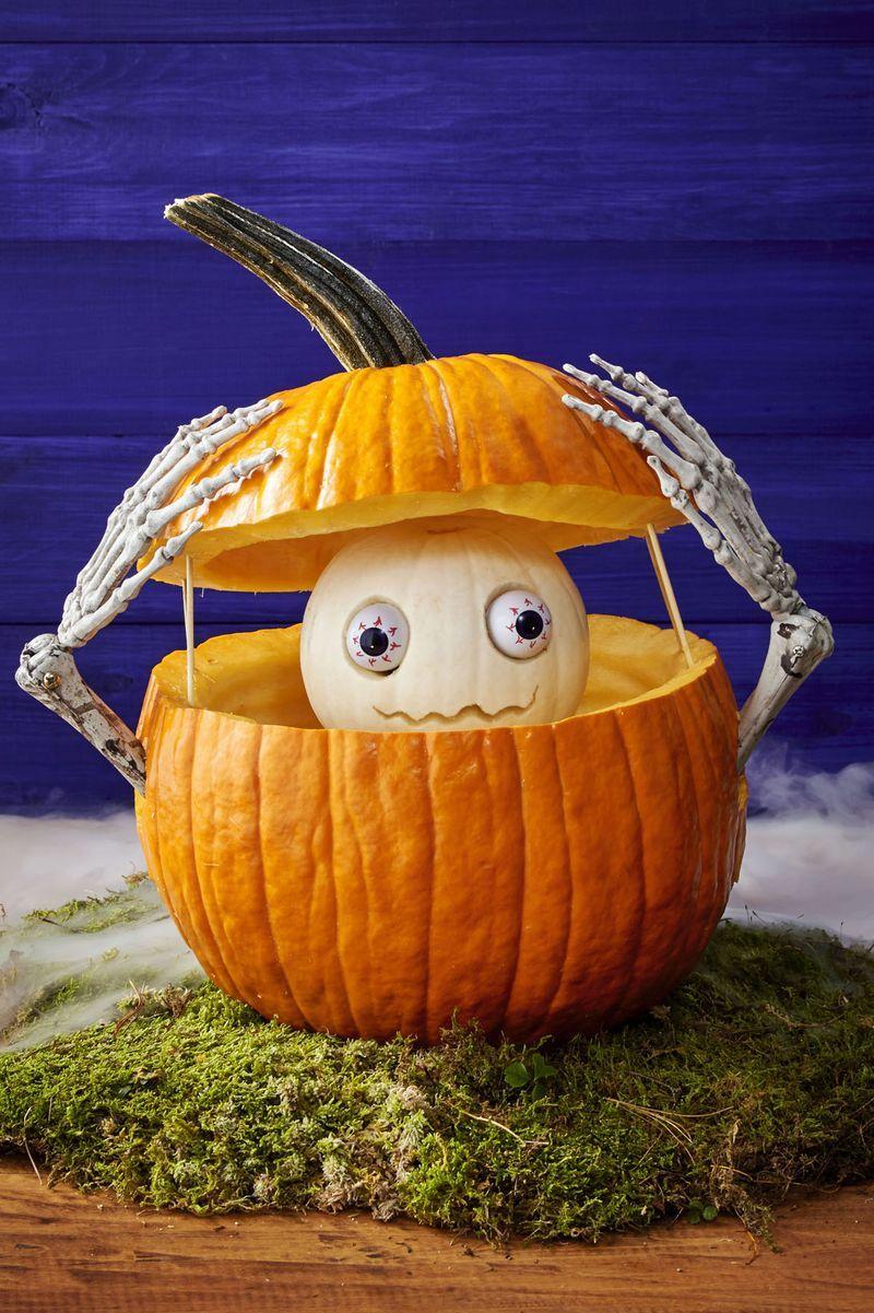 59 Pumpkin Carving Ideas , Creative Jack o\u0027 Lantern Designs