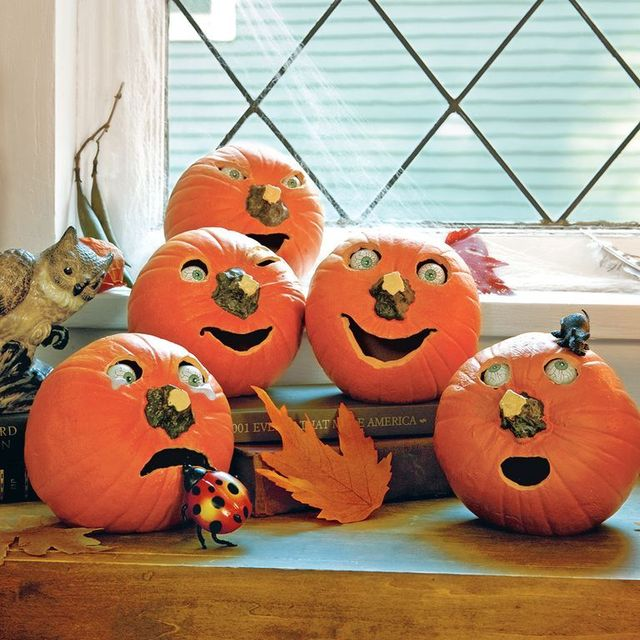 scary and cool pumpkin carving ideas