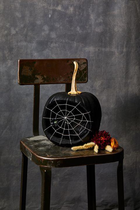 pumpkin carving ideas spider pumpkin
