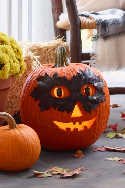 pumpkin carving ideas - the mask