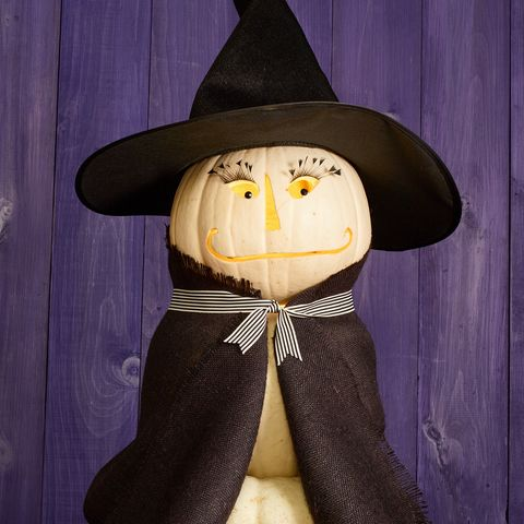 pumpkin carving ideas - witch