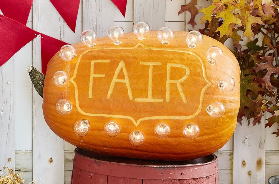 pumpkin carving marquee