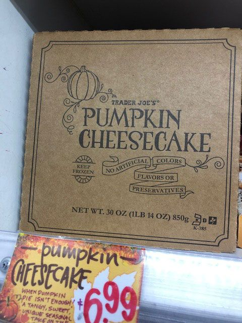 Trader Joe S Released Its Pumpkin Products Trader Joe S 2020 Pumpkin Treats
