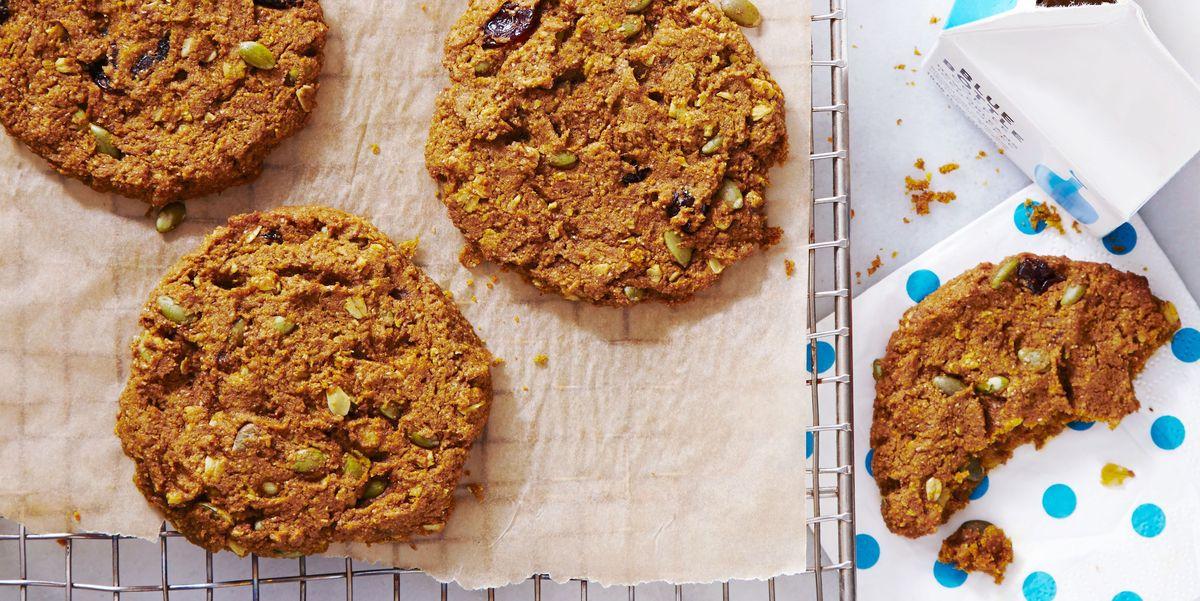 Печенье для завтрака с тыквой и вишней — полезное начало дня