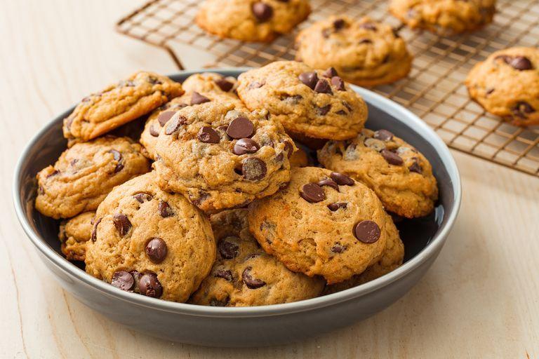 best pumpkin chocolate chip cookie recipe how to make pumpkin rh delish com cookie clicker heroes cookie recipes