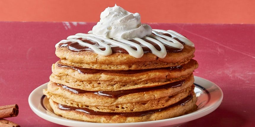 Ihop S Seasonal Pancakes Are Back With The New Pumpkin