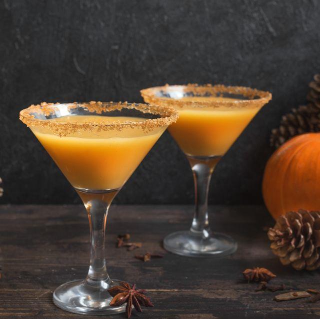 pumpkintini pumpkin martini cocktail