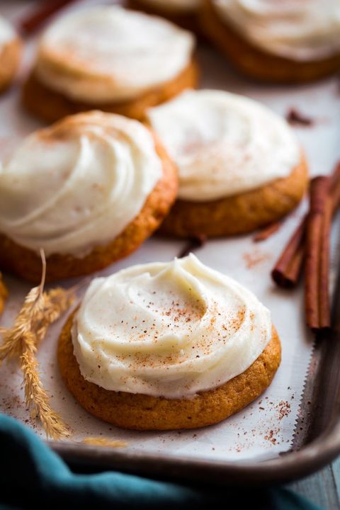 pumpkin cookies cream cheese