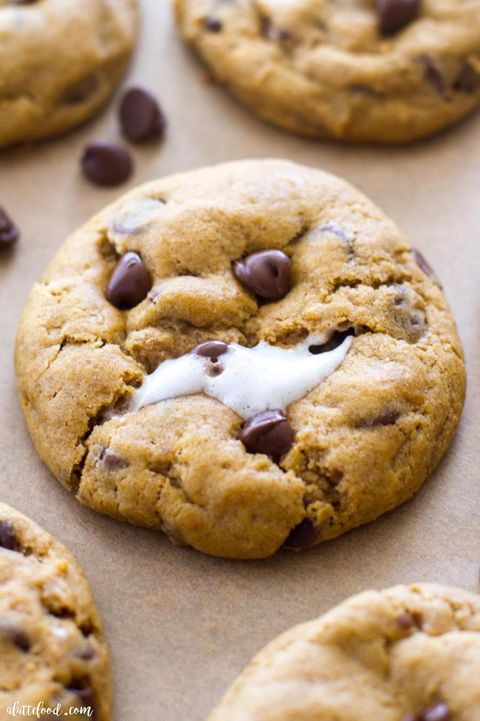 pumpkin cookies marshmallow