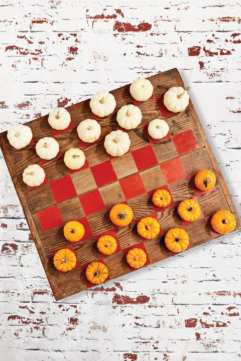 diy fall crafts checkers