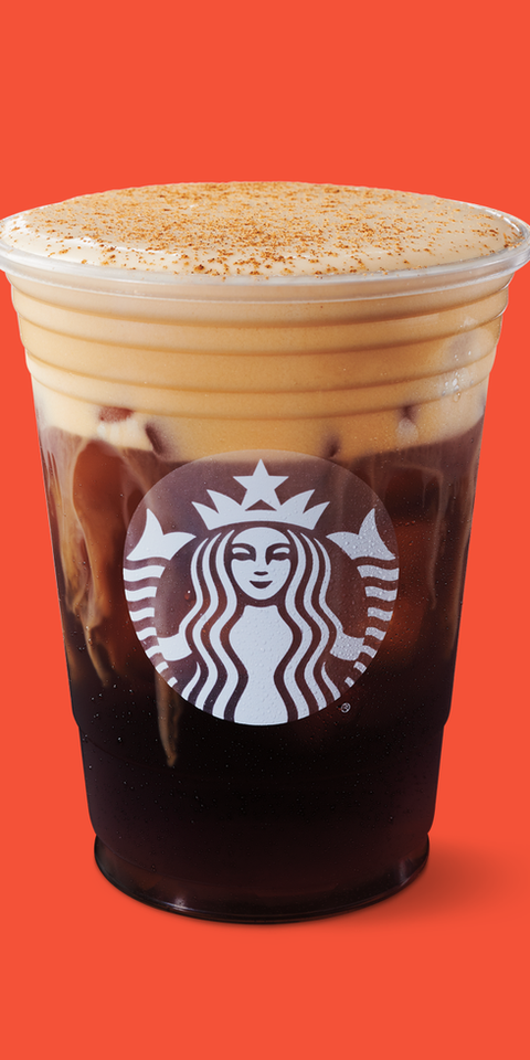 Starbucks Pumpkin Cream Cold Brew Nutrition Calories Sugar
