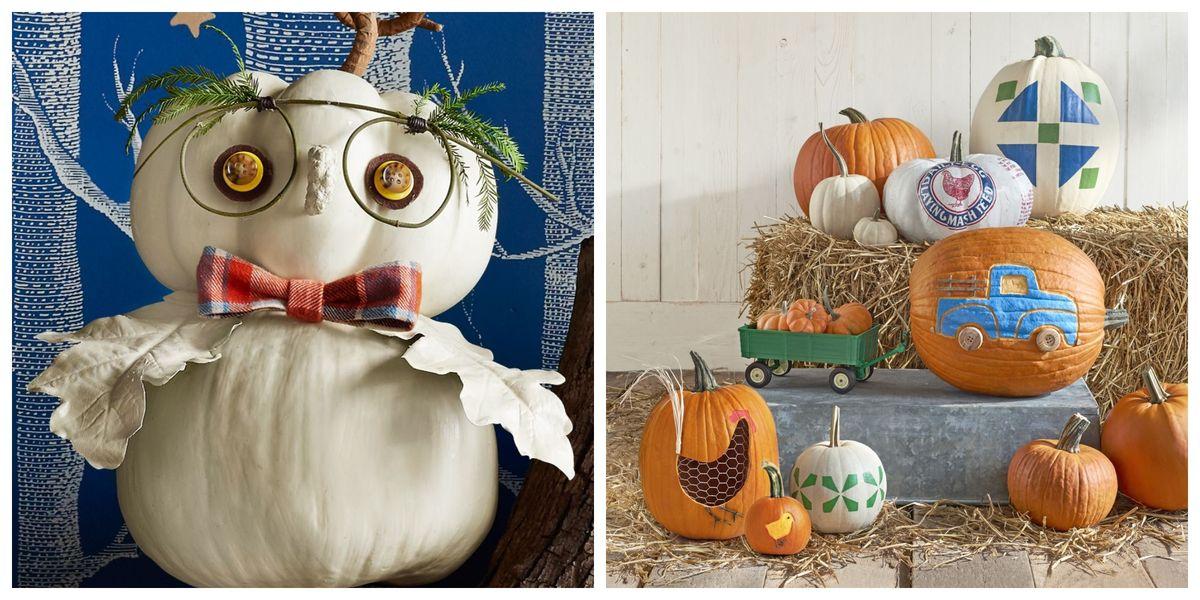 80 Creative Pumpkin Decorating Ideas Easy Halloween
