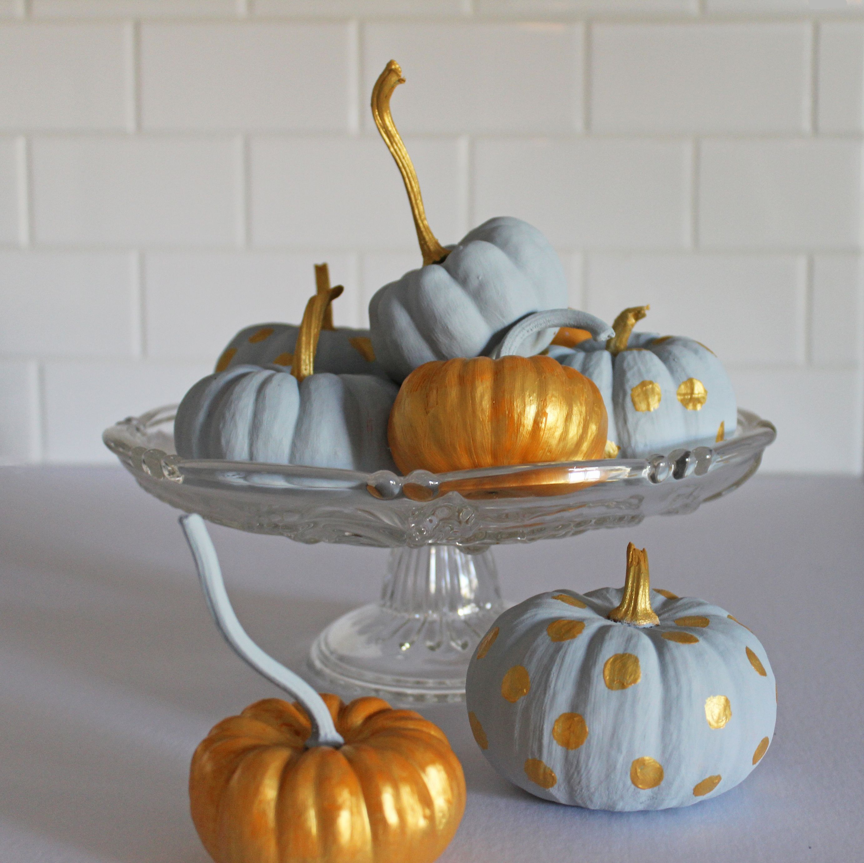 16 easy pumpkin decorating ideas painted pumpkins how to - Pumpkin Decorating Ideas