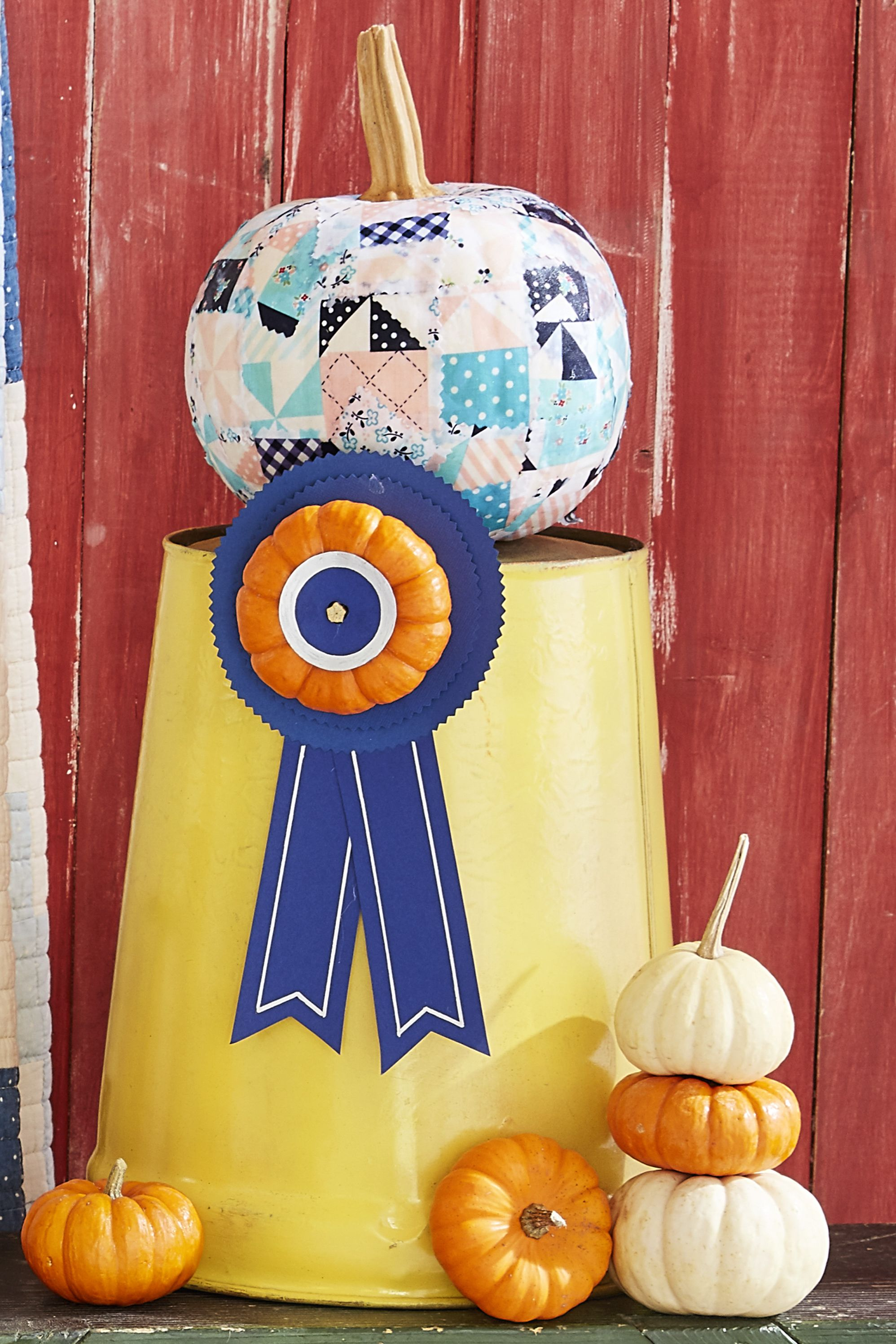 pumpkin decorating ideas quilt
