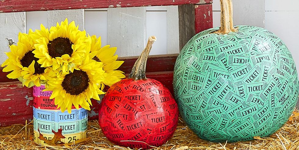 pumpkin decorating tickets ideas