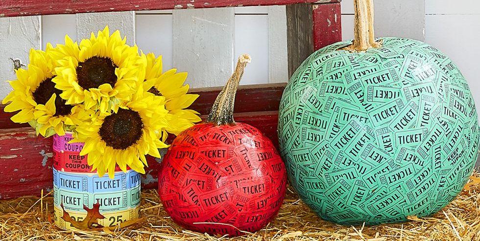 pumpkin decorating tickets ideas