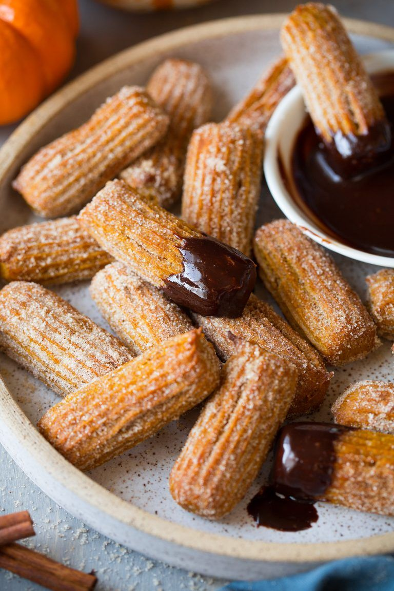 pumpkin dessert recipes churros