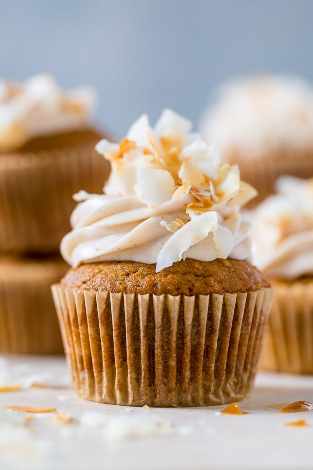pumpkin dessert recipes cupcakes