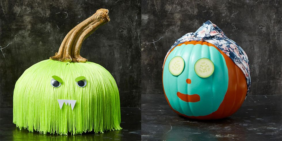17 Easy Pumpkin Faces to Carve or Design This Halloween