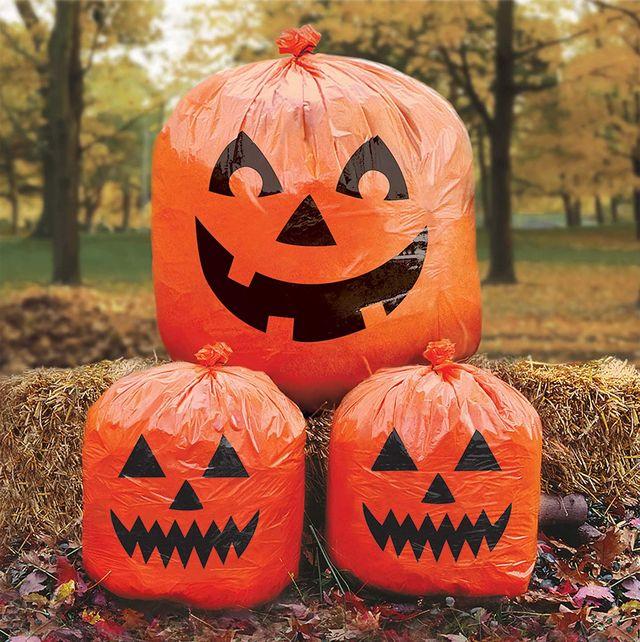 pumpkin lawn bags