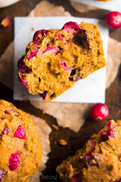 pumpkin muffins cranberry