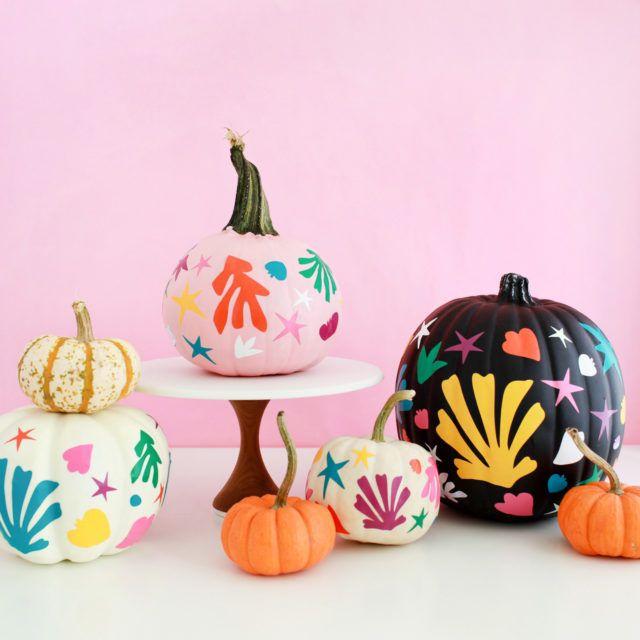 47 Pumpkin Painting Ideas , Cute Painted Pumpkin Ideas