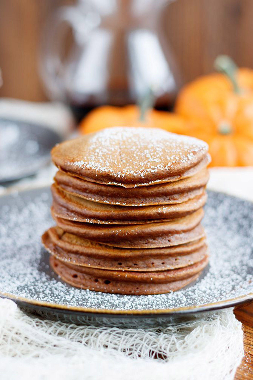 pumpkin pancakes chocolate