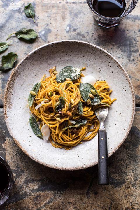 pumpkin pasta two ingredient