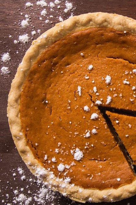Pumpkin Pie and Whipped Cream