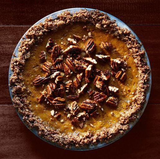 pumpkin pie ideas oat pecan crust