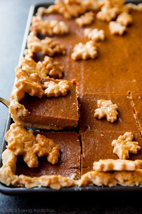 pumpkin pie recipes slab pie