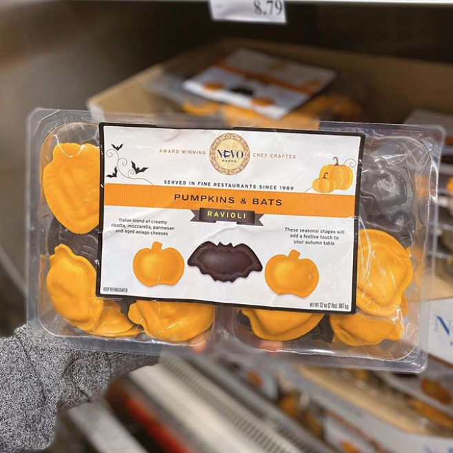 Costco Is Selling Pumpkin- And Bat-Shaped Ravioli That's Perfect For Halloween Dinner