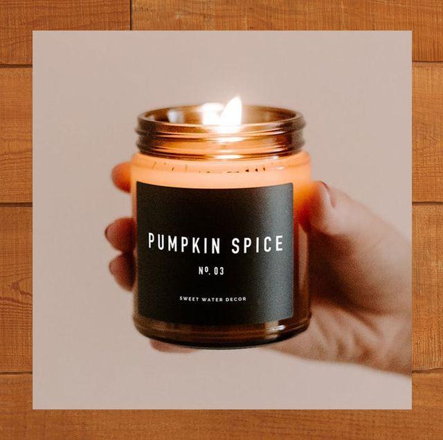 pumpkin scented candles chloefu pumpkin cinnamon amber jar candle pumpkin spice