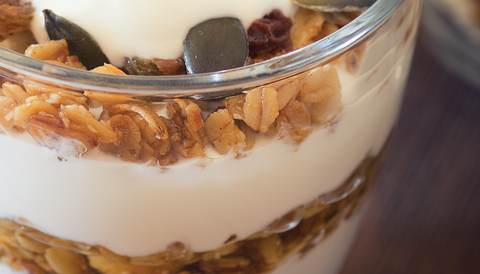 Jillian Michaels pumpkin seed parfait
