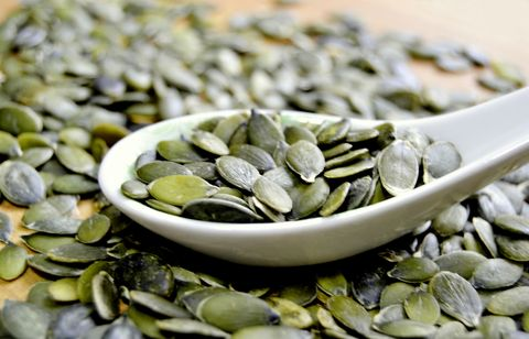 Pumpkin seeds: best high protein foods