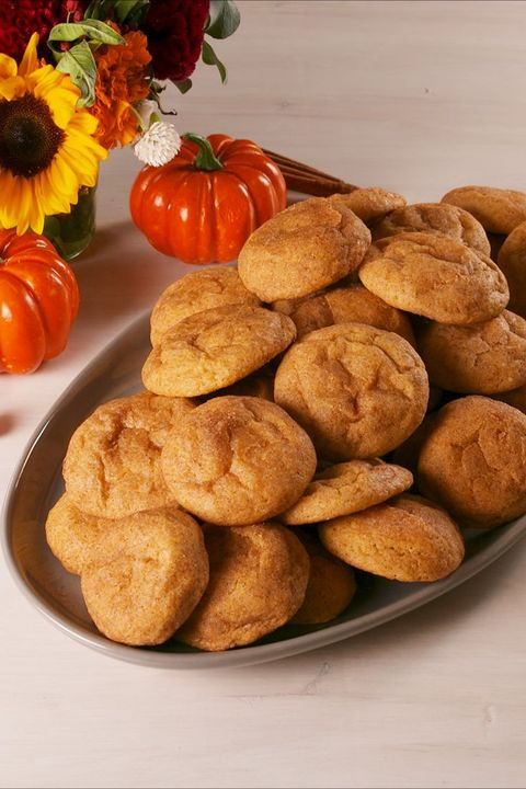 20 Best Fall Cookie Recipes Homemade Cookies For Autumn Delish Com