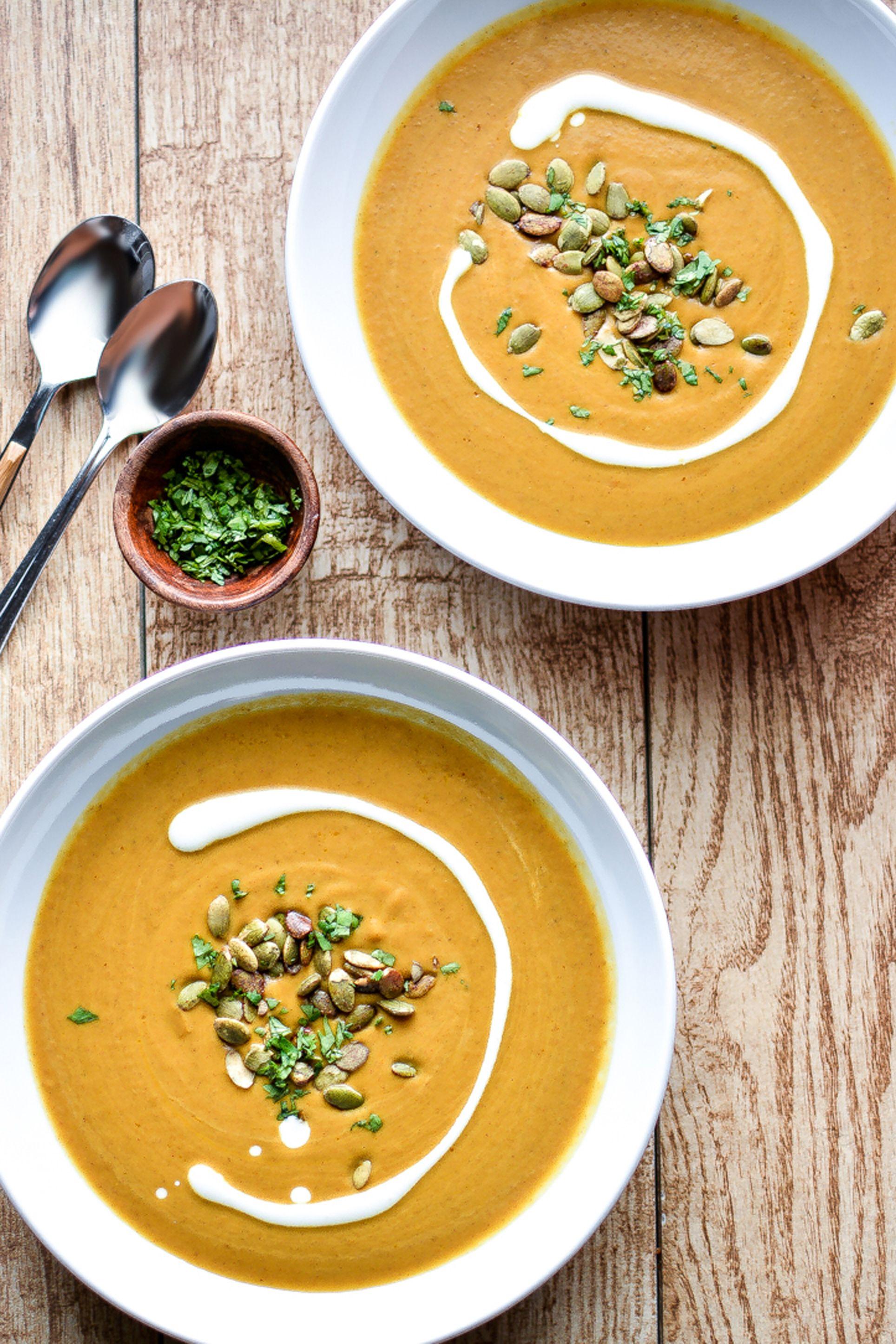 pumpkin soup recipes -slow cooker