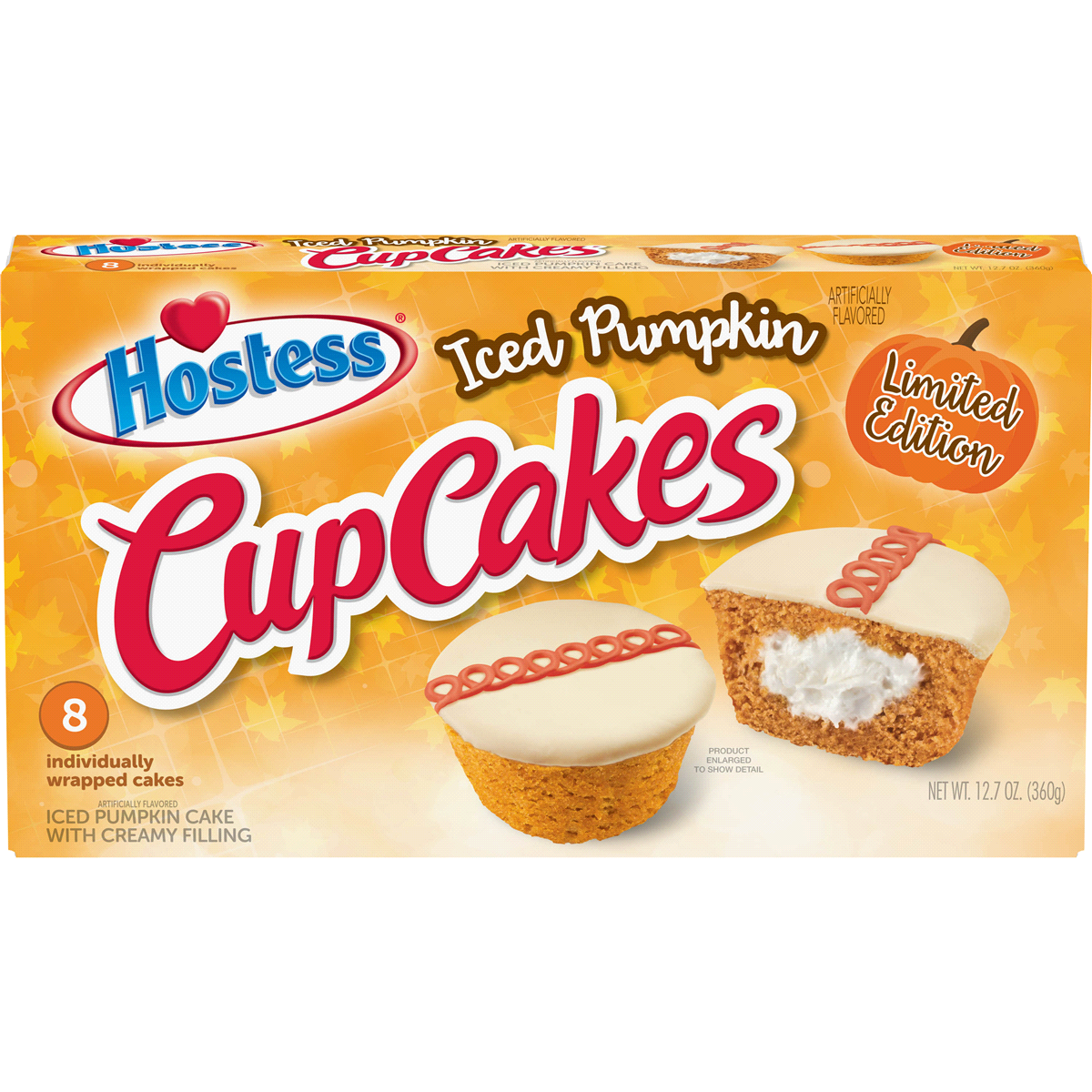 Hostess Is Releasing A Pumpkin Version Of Its Iconic Cupcakes And People Are Seriously Excited