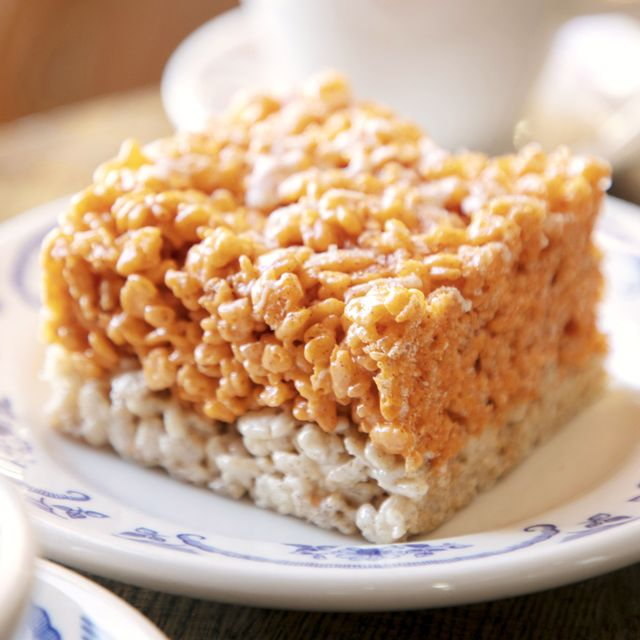 pumpkin spice cereal treats