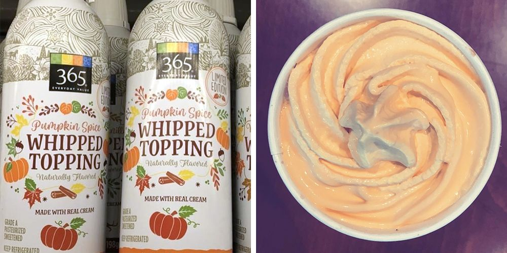 Whole Foods Just Released Pumpkin Spice Whipped Cream