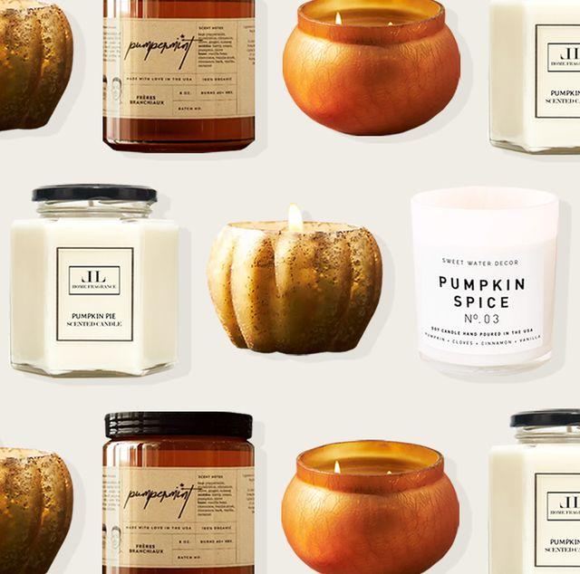 best pumpkin scented candles